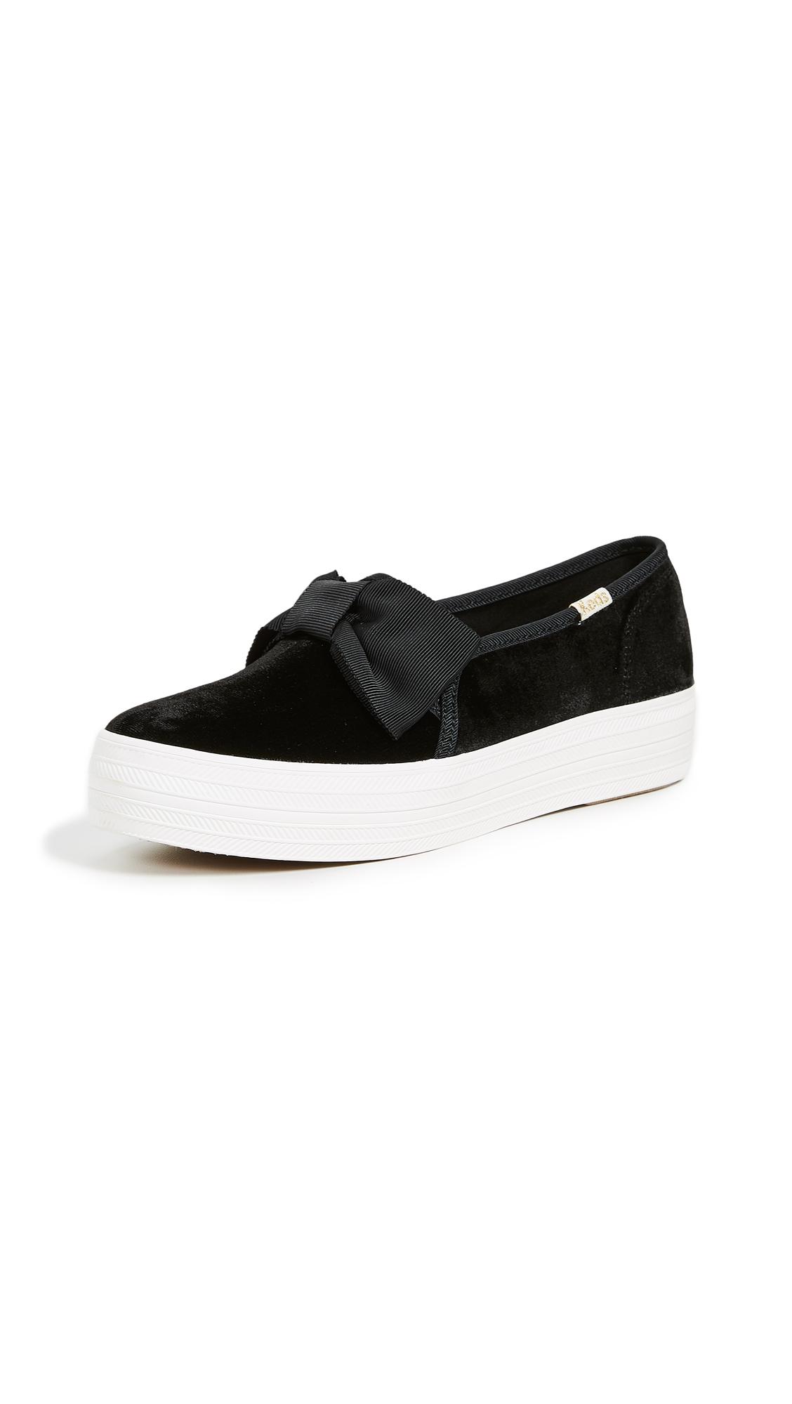 Keds x Kate Spade New York Triple Decker Sneakers - Black