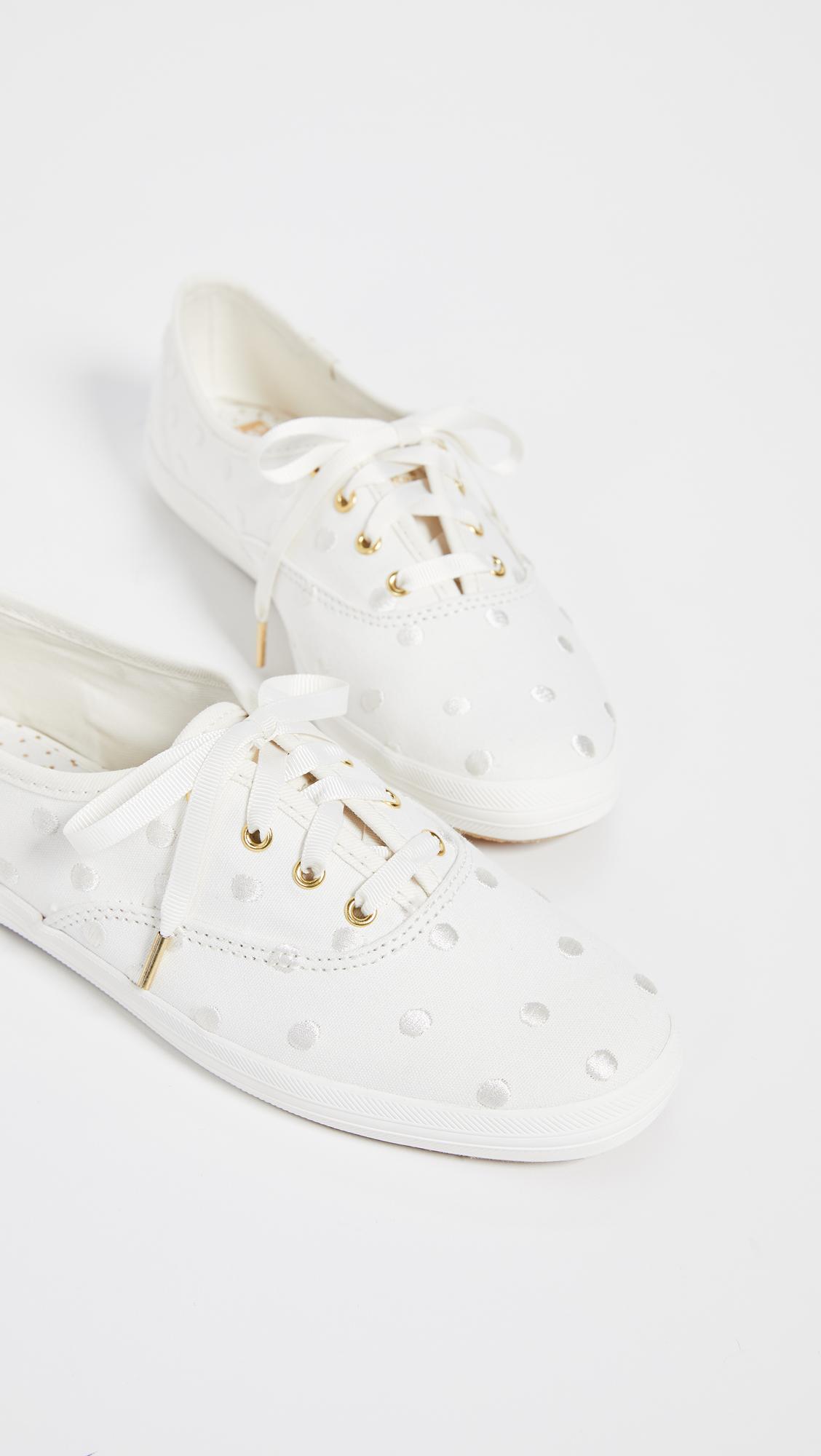 4dab1a183c4 Keds x Kate Spade New York Dancing Dot Champion Sneakers