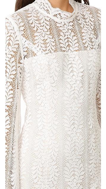 Keepsake Uptown Lace Mini Dress