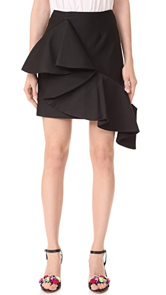 Keepsake Awake Mini Skirt - Black