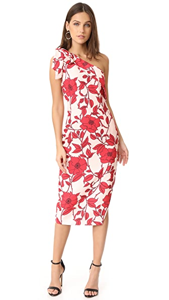 Keepsake Dream On Dress - Light Floral Print