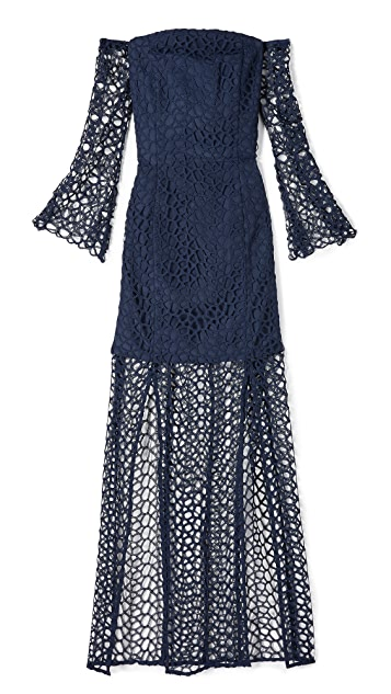 Keepsake Countdown Lace Gown