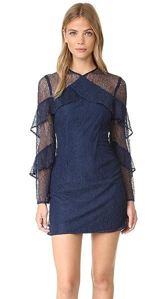 Keepsake Wide Awake Mini Dress