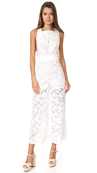 Keepsake Plain Sight Jumpsuit - Ivory