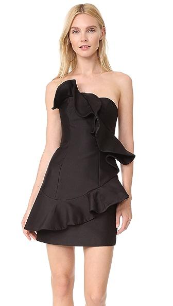 Keepsake Wallflower Mini Dress - Black