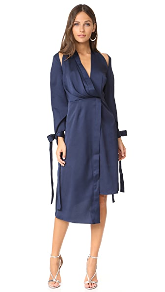 Keepsake Too Late Dress - Navy