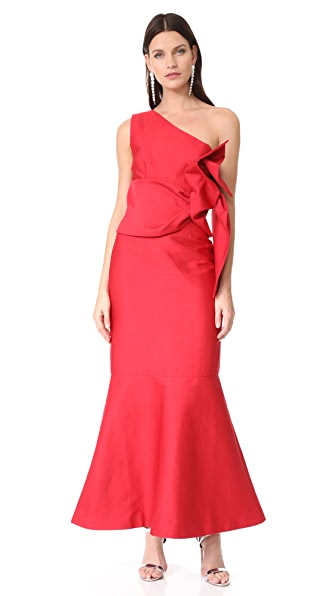 Keepsake Retrogade Gown - Scarlet Red