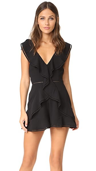 Keepsake Lovers Holiday Romper - Black
