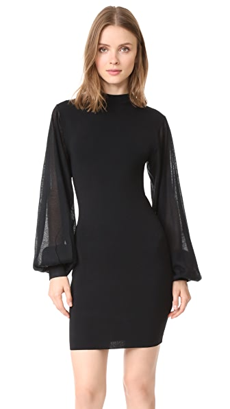 Keepsake Know Me Better Knit Dress - Black