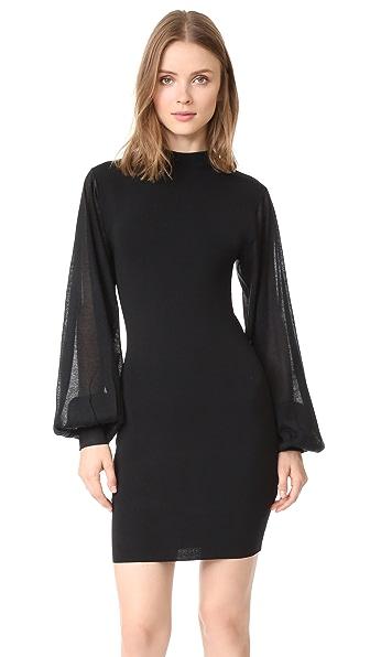 Keepsake Know Me Better Knit Dress - Black