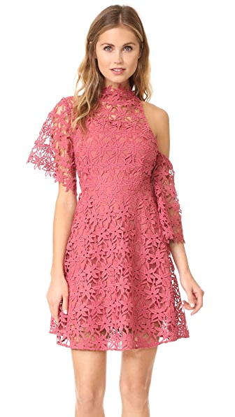 Keepsake Stay Close Lace Mini Dress