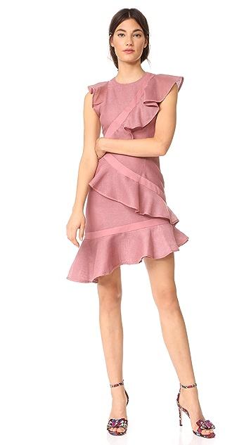 Keepsake Flashing Lights Mini Dress