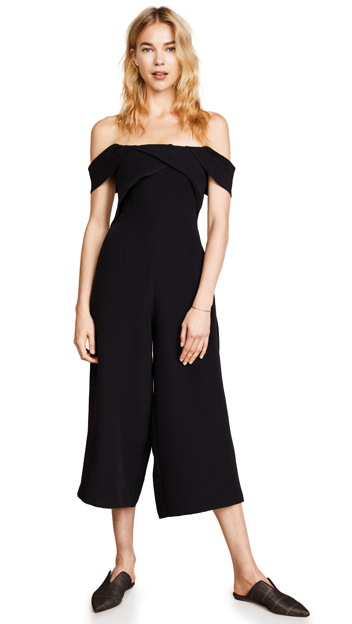 Keepsake Shooting Star Jumpsuit - Black
