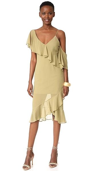 Keepsake Cosmic Girl Dress In Willow