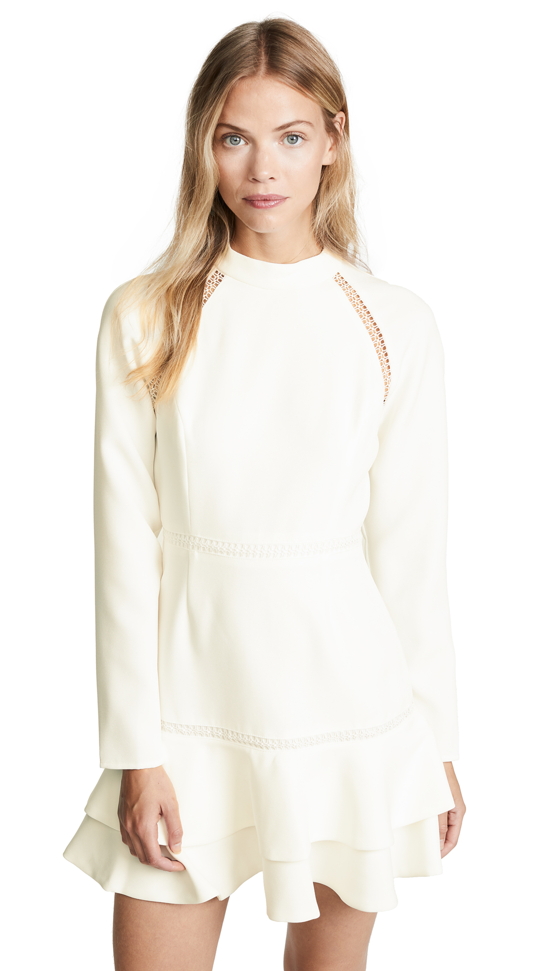 Keepsake Mirrors Mini Dress In Ivory