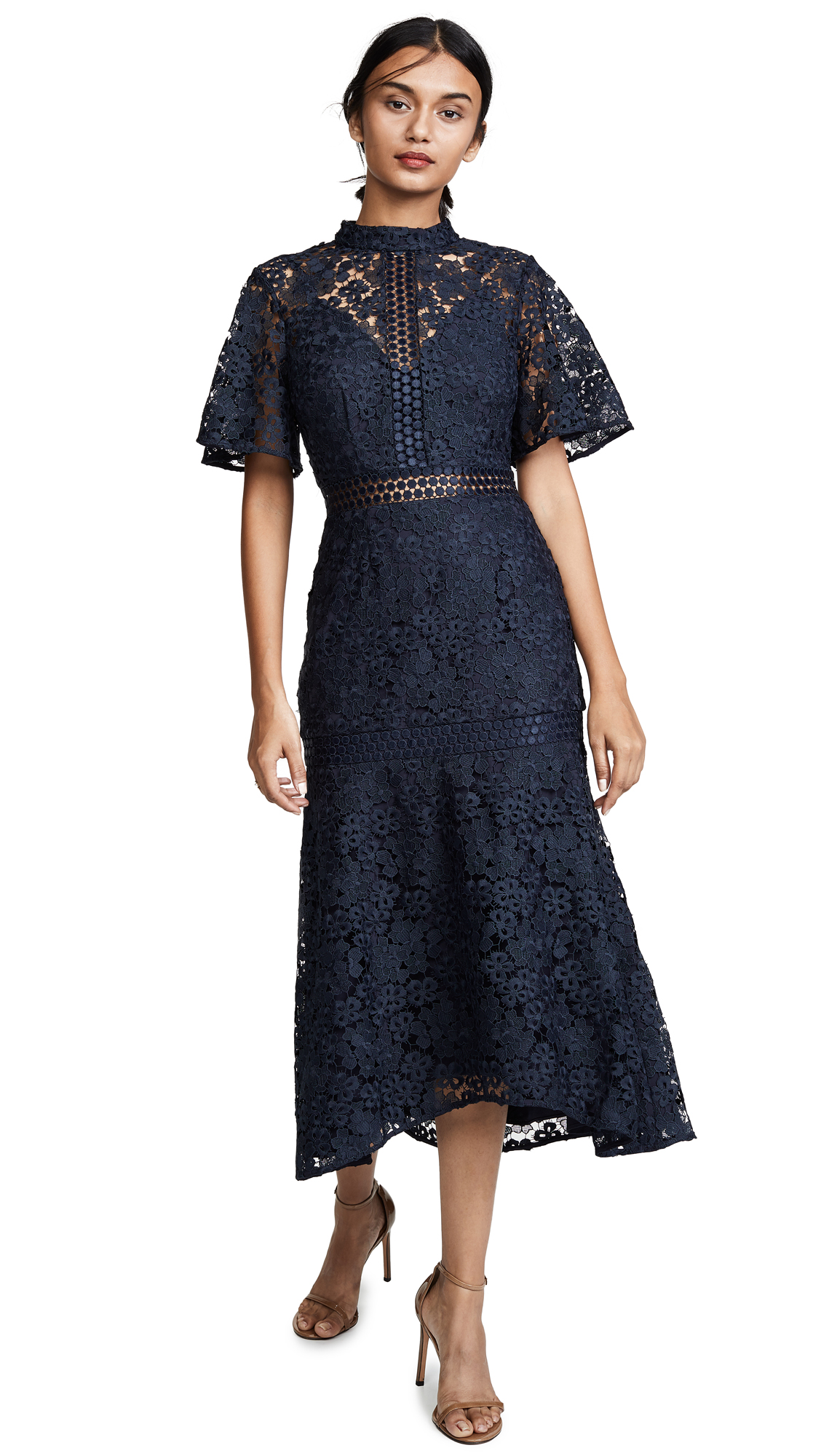 Photo of Keepsake Utopia Lace Midi Dress online sales
