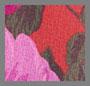 гранатовый цветочный рисунок