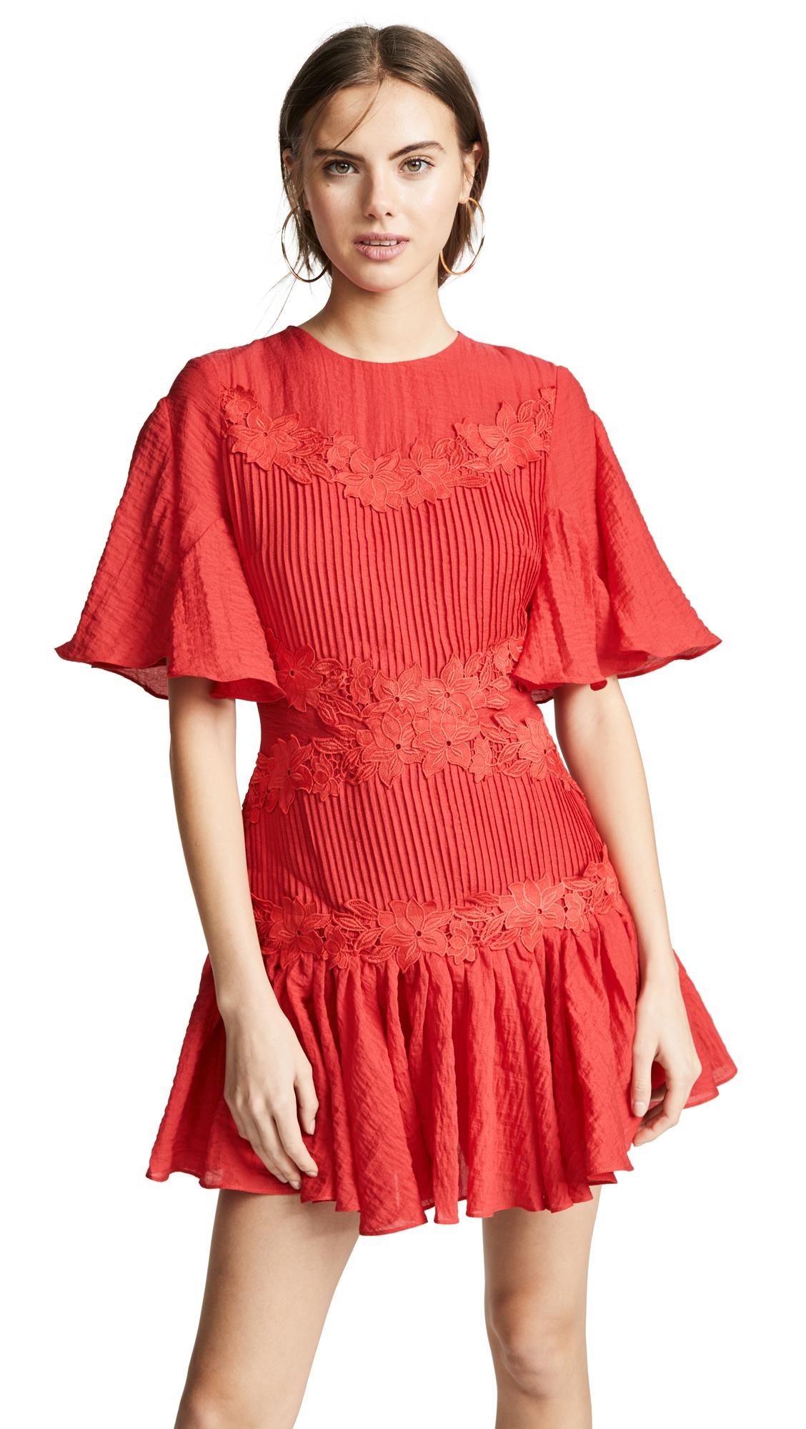 Keepsake Only Surrender Mini Dress - Red
