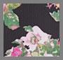 Черно-розовый цветочный рисунок