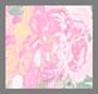 Цвета слоновой кости с розовым цветочным рисунком