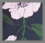 темно-синий цветущий