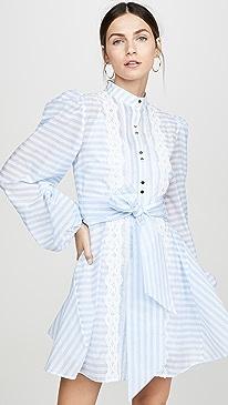 66f57e03f55e7d Keepsake. Guardian Long Sleeve Mini Dress