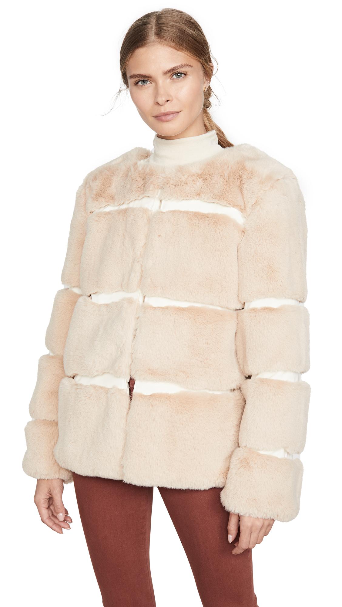 Buy Keepsake online - photo of Keepsake Ariel Faux Fur Coat
