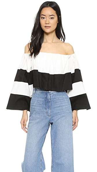 KENDALL + KYLIE Off-Shoulder Ruffle Top