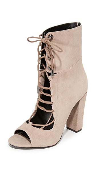 KENDALL + KYLIE Ella Open Toe Booties