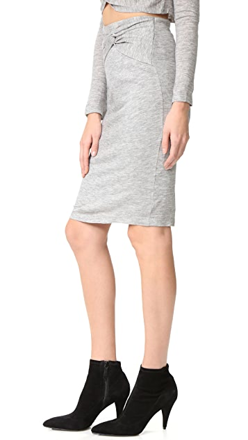 KENDALL + KYLIE Knotted Pencil Skirt