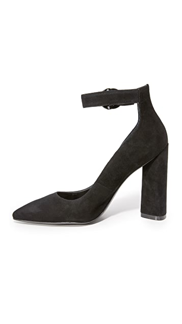 KENDALL + KYLIE Gloria Ankle Strap Pumps