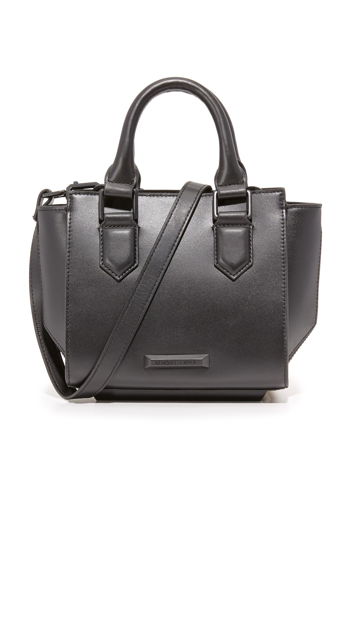 kendall kylie female 188971 kendall kylie brook mini cross body bag black