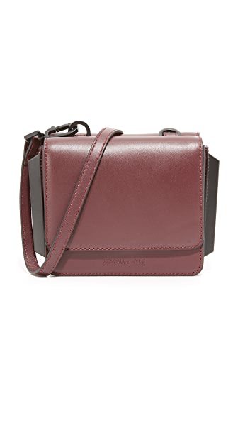 KENDALL + KYLIE Baxter Cross Body Bag - Red Plum