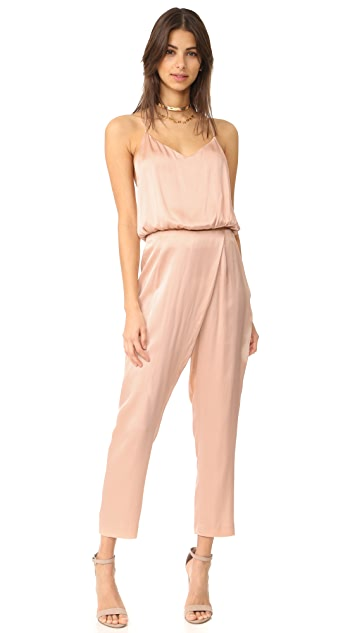 KENDALL + KYLIE Silk Draped Trousers