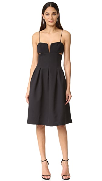 KENDALL + KYLIE Box Pleat Cami Dress