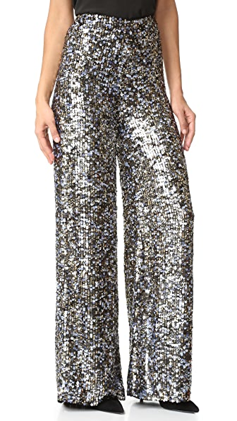 KENDALL + KYLIE Multi Sequin Pants