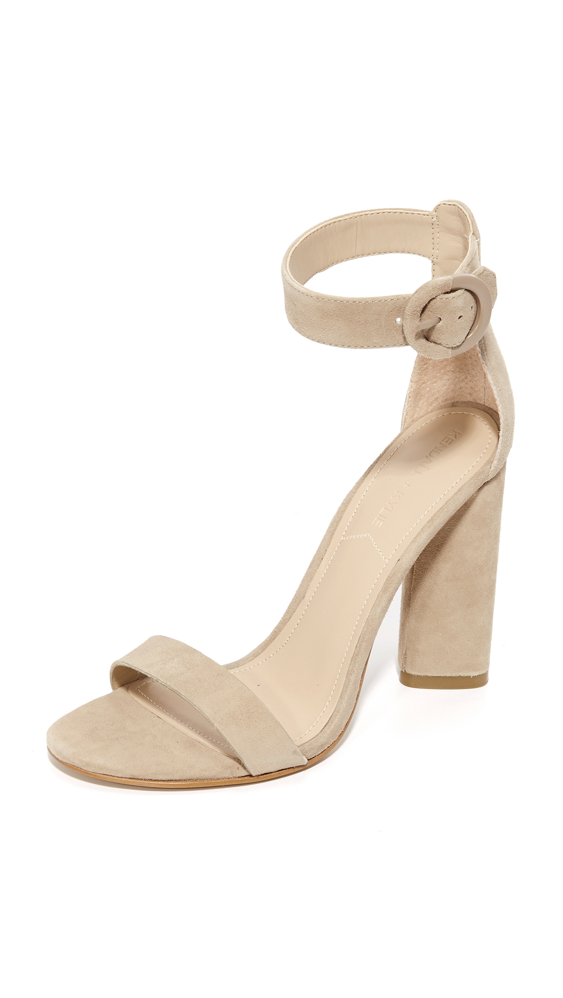 KENDALL + KYLIE Giselle 3 Sandals - Sughero