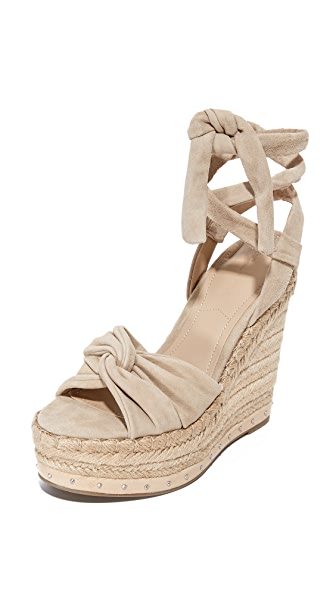 KENDALL + KYLIE Grayce Wedges - Light Natural