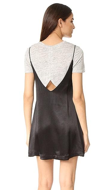 KENDALL + KYLIE Satin Slip Dress Set
