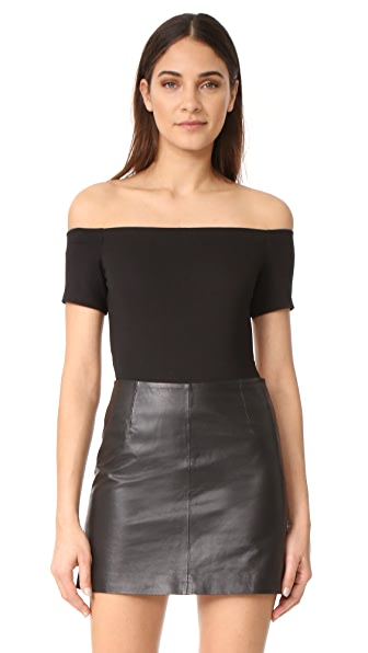 KENDALL + KYLIE Off Shoulder Bodysuit