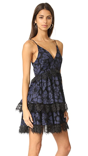 KENDALL + KYLIE Lace Babydoll Dress
