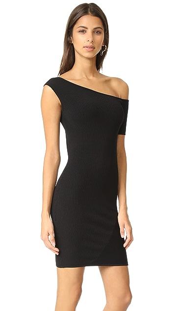 KENDALL + KYLIE Asymmetrical One Shoulder Dress