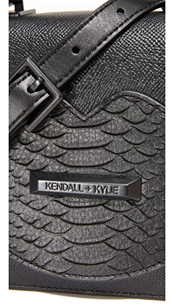 KENDALL + KYLIE Lips Mini Top Handle Satchel
