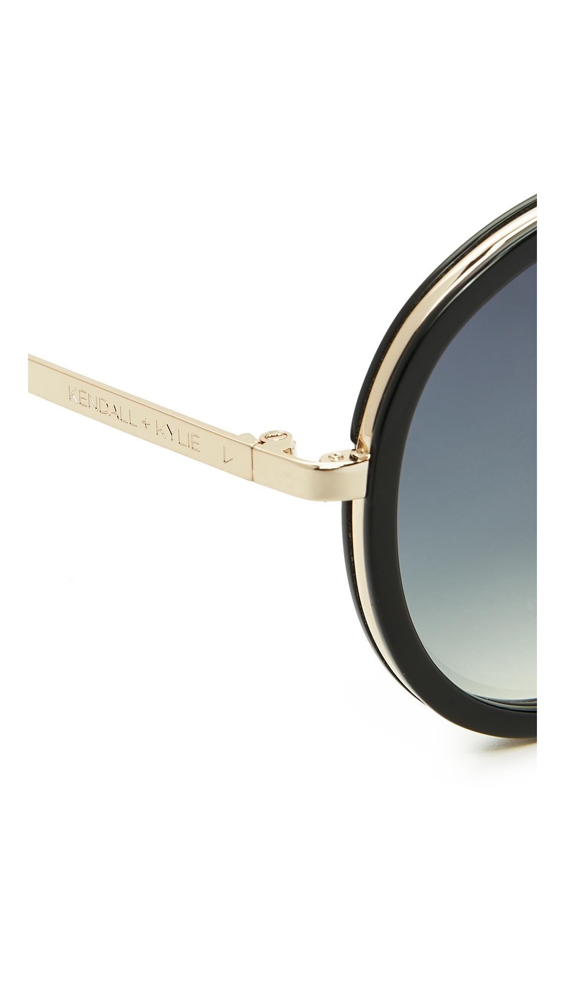 137efd4e37c KENDALL + KYLIE Jules Aviator Sunglasses