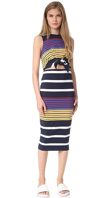 KENDALL + KYLIE Multi Stripe Dress