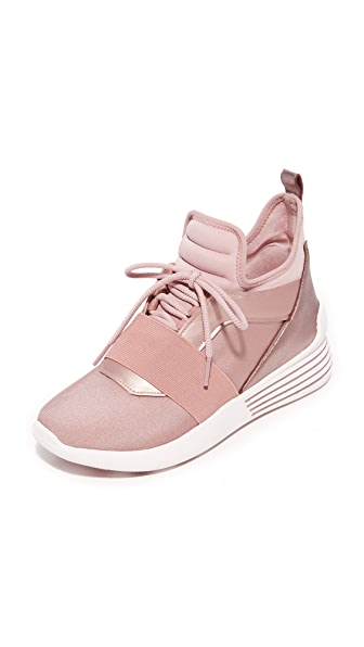 KENDALL + KYLIE Braydin 3 Trainers In Rose Gold