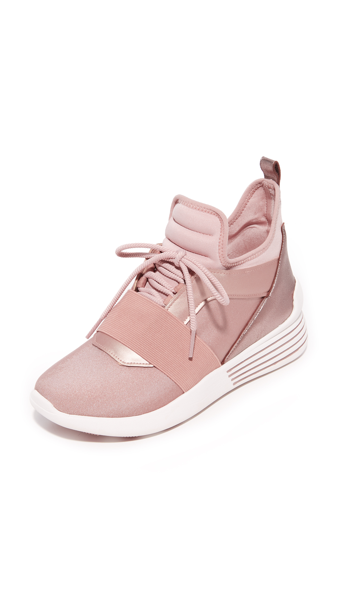 KENDALL + KYLIE Braydin 3 Trainers - Rose Gold