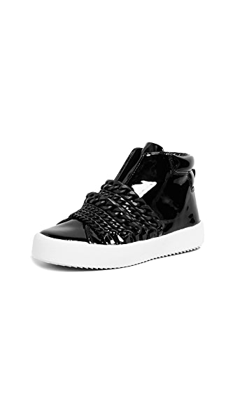 KENDALL + KYLIE Duke Chain High Tops In Black