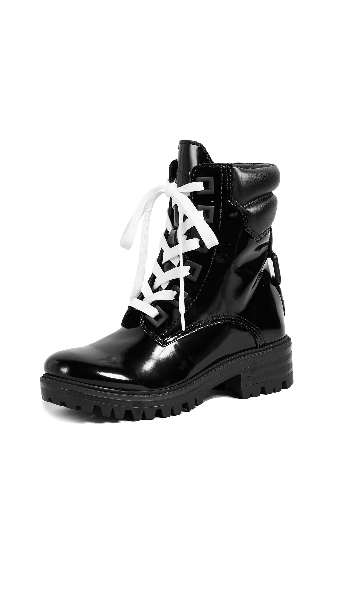 KENDALL + KYLIE East Hiker Boots - Black