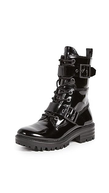 KENDALL + KYLIE Eliya Buckle Combat Boots